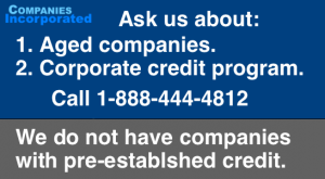 aged companies credit