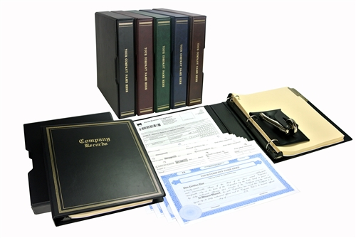 Corporate kits seals stock certificates and corporate binders standard corporate kit solutioingenieria Choice Image
