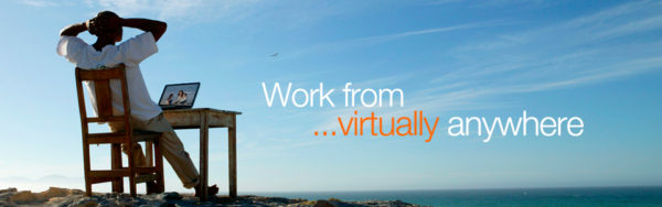 work from virtually anywhere